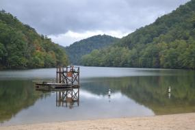 Lake at Hungry Mother State Park