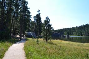 Trail at Sylvan Lake