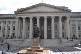 The Treasury Department Building