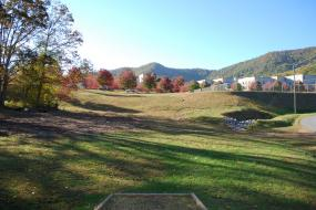 Hole 9 on the Disc Golf course