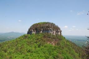 Peak of Pilot Mountain