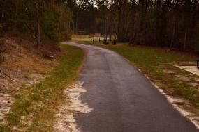 Paved path