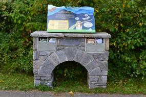 Kids in Parks trail head kiosk