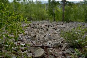 Rocky talus slopes