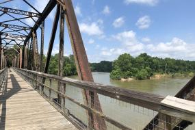 Trestle over the Broad River