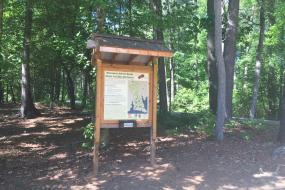 Nature Trail Disc Golf kiosk