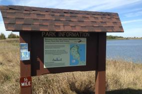 Disc Golf information kiosk
