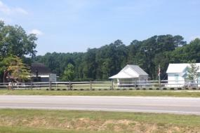 East Carolina Village of Yesteryear across the road