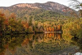 View of Table Rock Mountain
