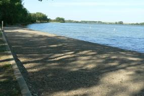 Beach at Pelican Lake