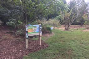 Kids in Parks trailhead sign at Prairie Ridge