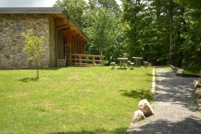 Visitor center and picnic area