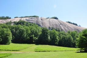 Stone mountain from the Homestead